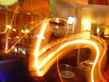 timebending in a bar