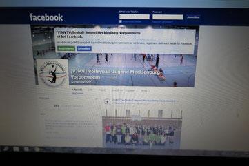 Auf der Facebook-Seite des Volleyballverbandes Mecklenburg-Vorpommern wird der Film über die sozialsportliche Aktion in WEsthagen geworben