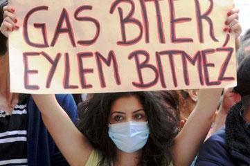 Protester mod politivold