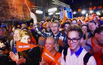 Valgaften fra Die Linke i Berlin