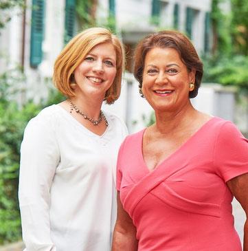 Diana Auwärter und Martina Feierling-Rombach