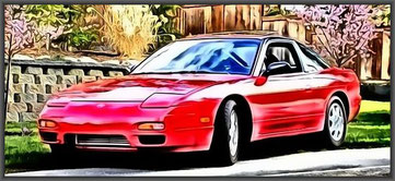 Nissan 200 SX Turbo