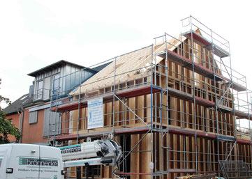 Ausbauhaus in Holzrahmenbauweise