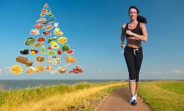 Alimentación para corredores