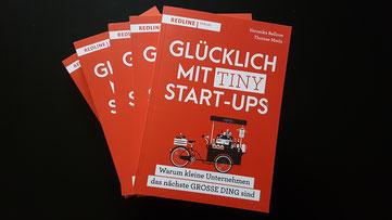 Glücklich mit Tiny Start-ups, Bellone/Matla, Redline 2019 © Bellone Franchise Consulting GmbH