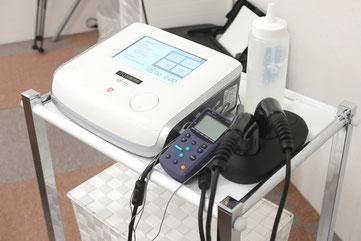 最新の治療器具を導入し、最先端の治療方法にも対応