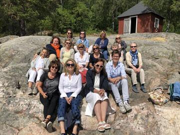 Einige unserer Mitglieder bei einer gemeinsamen Reise nach Stockholm