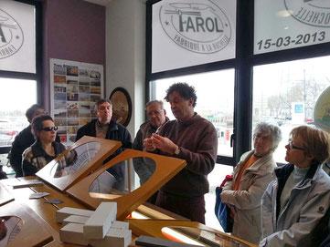 Visite de l'atelier des couteaux Farol