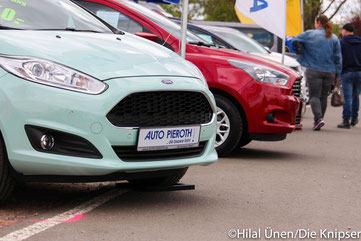 Die Autoausstellung auf dem Osthofener Frühlingsfest