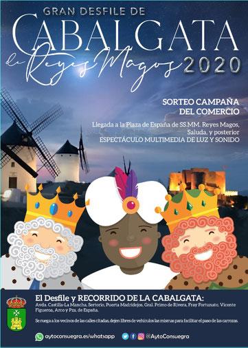 Fiestas en Consuegra Cabalgata de Reyes
