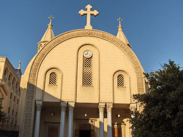 Die Sankt-Markus-Kathedrale in Alexandria | Bild: Wikimedia Commons/Athanasius 77