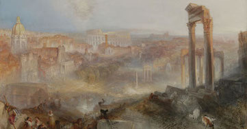 Modern Rome. Campo vaccino, J. M. W. Turner 1839 - J. Paul Getty Museum, Los Angeles