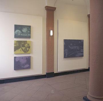 Blick in die Ausstellung der Galerie im Regierungspräsidium Darmstadt