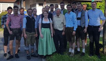 Junge Union diskutiert bei Volksfestsitzung mit Alois Karl, MdB, Foto: Junge Union Neumarkt