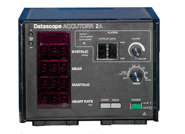 Patientenmonitor Datascope Accutorr 2 für Medizin und Praxis