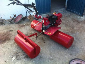 Rodillo compactador para motoazada