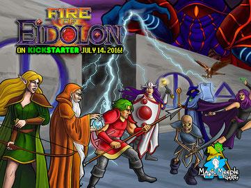 Crowdfunding Brettspiel: Fire of Eidolon
