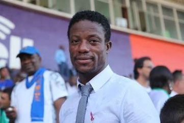 Mohamed Kallon, in una foto recente