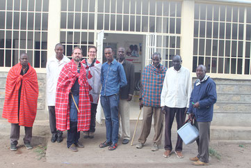Naikarra: Nkoyo Ntiangau,  Leonard Loontaye (clinical doctor), Dr. Simon Mischel (HEAT, SolarChill), Rebekka Oelze (CHAK, SolarChill), Mathew Musanka, Rev. David Karriankei, Daniel Tootio, James Tingisha, Philemon Kigen (Lab technician).