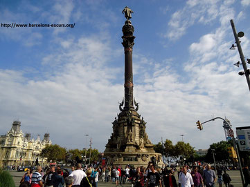 Монумент Христофору Колумбу в Барселоне