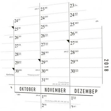 Saisonkalender, Geburtstagskalender und Familienplaner von Kleinwaren / von Laufenberg