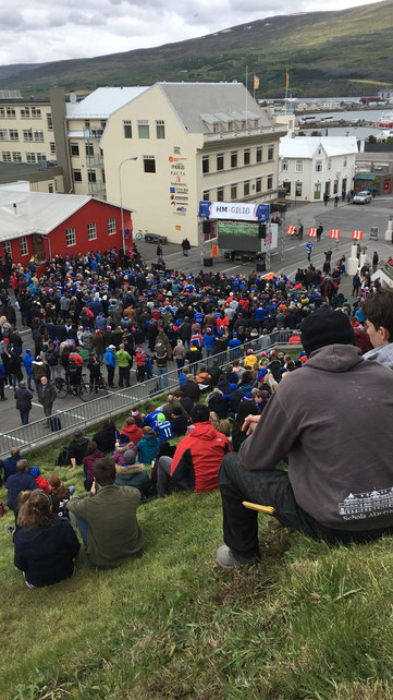 Public Viewing in Akureyri