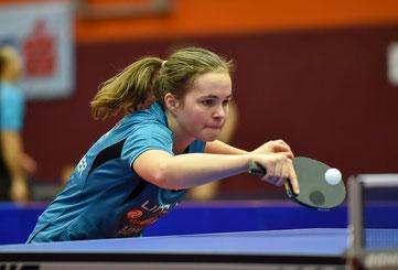 Christine Oberfichtner Tischtennisspielerin Club: LINZ AG Froschberg - B-Team