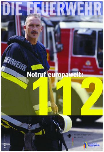 Plakat Feuerwehr