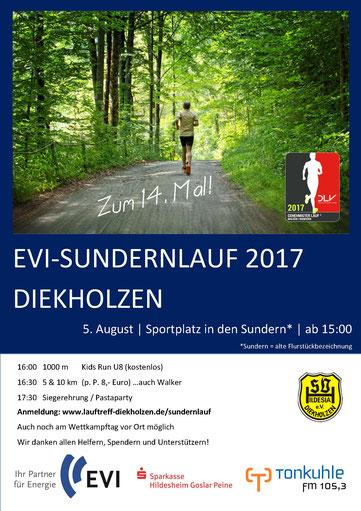 Flyer Sundernlauf 2017 Diekholzen