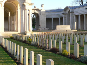 British cemetery - Arras Memorial