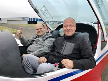 Prüfer Udo mit Björn
