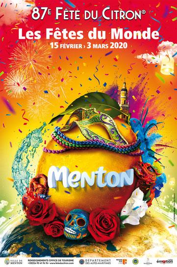 87ème Fête du Citron 2020 à Menton - Canal Gourmandises