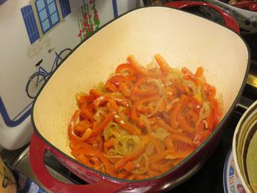 Dans la cuisine de Canal Gourmandises...