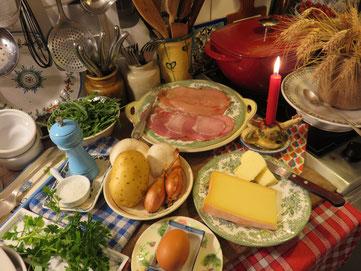 """Gratin de poulet façon """"Orloff"""" Canal Gourmandises"""