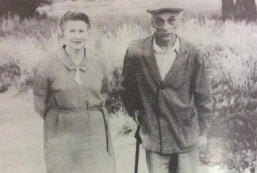 ドゥルースキンとリパフスキー夫人。ツァールスコエ・セロー。1970年代。