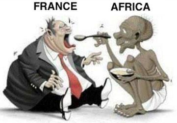 14 afrikanische Länder von Frankreich gezwungen, Kolonialsteuer für die Wohltaten der Sklaverei und Kolonisierung zu zahlen von Mawuna Remarque KOUTONIN