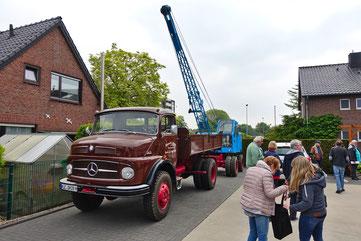 Historische Nutzfahrzeuge wurden ausgestellt