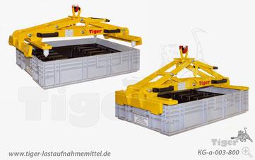Kastengreifer - Kunststoffbehälter