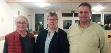 V.l.n.r.: Frau Arndt, Frau Thoms-Radtke, Herr Richter