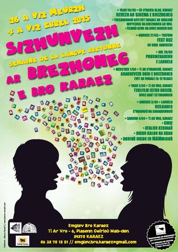 Sizhunvezh ar brezhoneg e Kreiz-Breizh / Semaine de la langue bretonne en Centre-Bretagne.