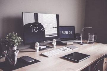 Home Office kompakt - Blockhaus  Smarthome,  Fertighaus, Schwedenhaus - Einrichten, Planen  Wohnen
