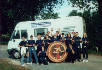 ABOINUDI's Fadenspielgruppe zur EXPO 2000 in Hannover