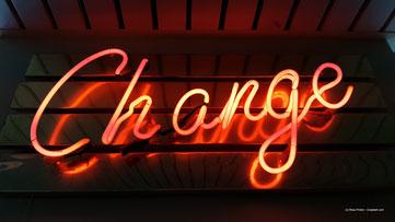 Im Leben ist nichts beständiger als der Wandel.
