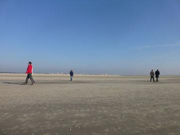 Sankt Peter-Ording, 12 Kilometer Sandstrand
