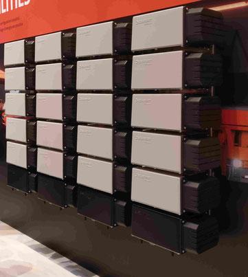 Akku System der Firma Solarwatt Modular erweiterbar