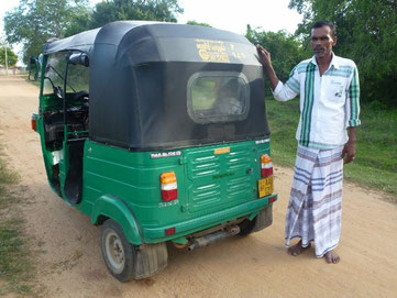 Bild: Tuk-Tuk driver