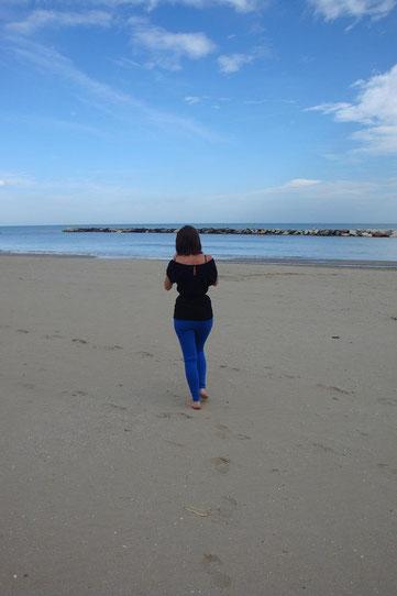 Italien Rimini Strand