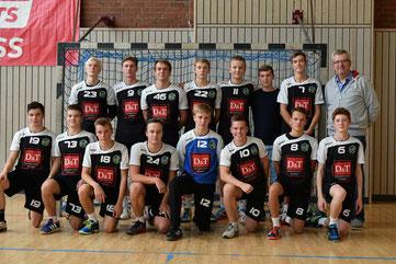HSG VfR/Eintracht Wiesbaden B-Jugend Handball Elsässer Platz