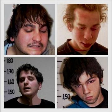 Politiet photoshoppede disse billeder af de anholdte venstreradikale for at skjule deres alvorlige kvæstelser