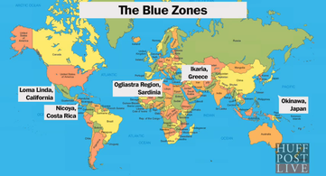Dan Buettner Blue Zones